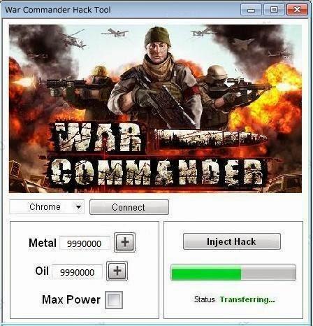 WAR COMMANDER HACK TOOL