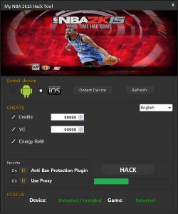 NBA 2K15 Hack