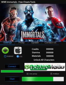 WWE Immortals Hack Tool