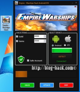 Empire Warships Hack