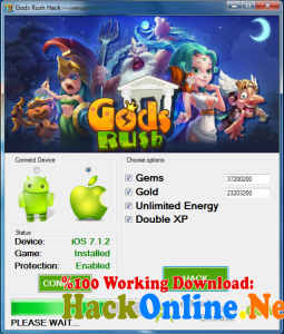Gods Rush Hack Tool