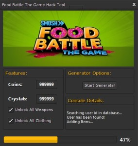 Food Battle The Game Hack
