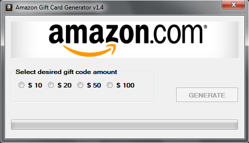 AMAZON GIFT CARD GENERATOR HACK TOOL