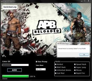 APB Reloaded Hack Tool