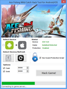 ACE FISHING WILD CATCH HACK TOOL