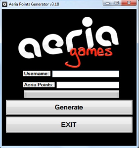 AERIA POINTS GENERATOR HACK TOOL