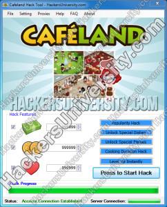 CAFELAND HACK TOOL