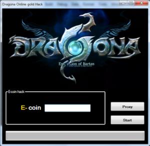 DRAGONA ONLINE E-COIN Hack