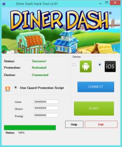 Diner Dash Hack Tool