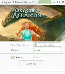 DRAGONS OF ATLANTIS Hack Tool