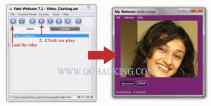 Fake Webcam Hack Tool