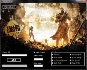 Fallen Earth HACK TOOL
