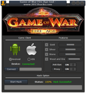 GAME OF WAR: FIRE AGE CHEATS