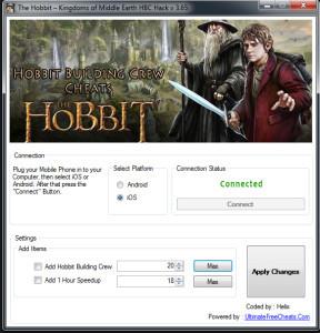 Hobbit Building Crew Hack