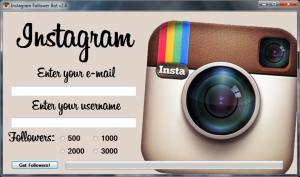 Instagram Followers Bot Hack