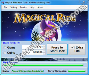 Magical Ride Hack