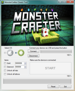 MonsterCrafter Hack Tool