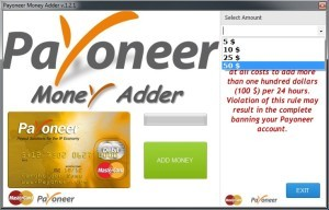 Payoneer Money Hack Tool