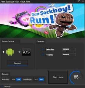 Run Sackboy Run Hack Tool