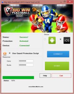 Big Win Football Hack Tool