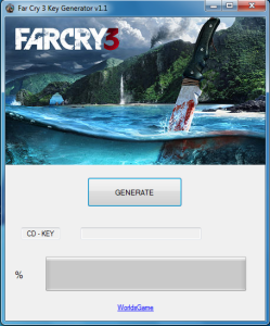 Far Cry 3 Key Generator