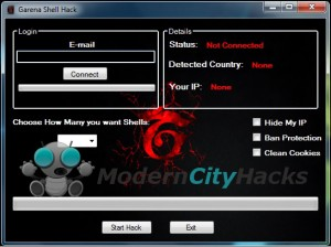 Garena Shell Hack Tool