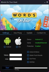 Words On Tour HACK TOOL