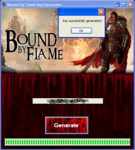 Bound By Flame Keygen