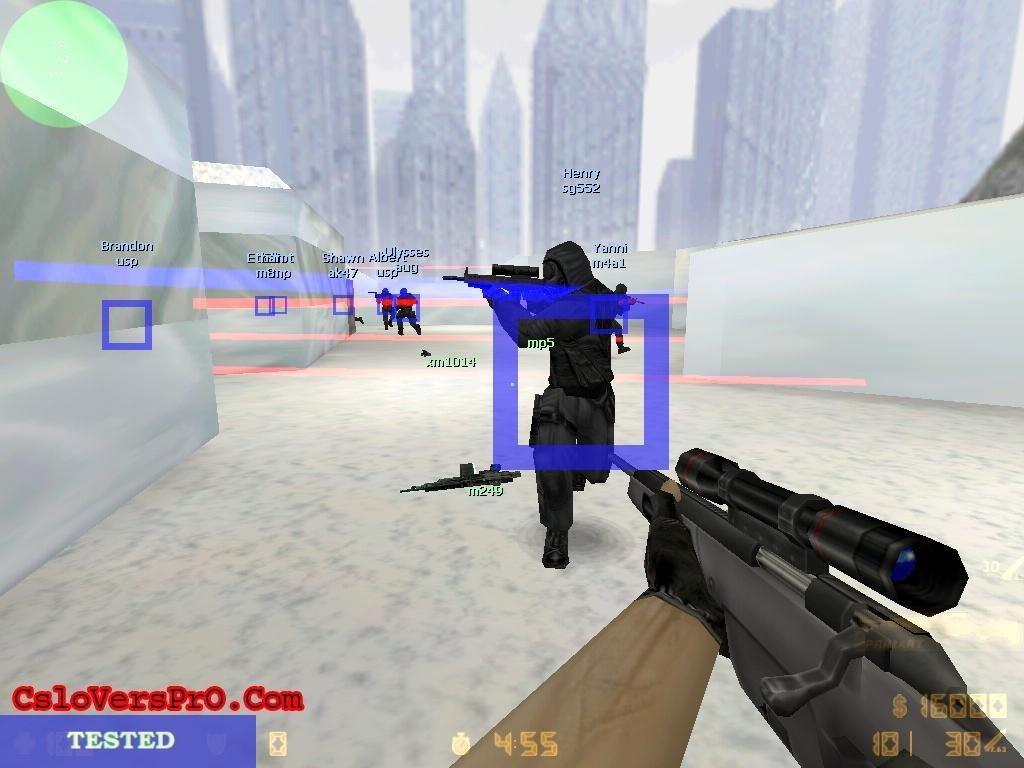 CounterStrike R-Aimbot v1.0