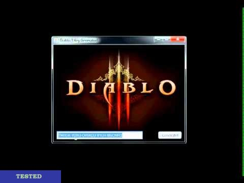 Diablo 3 CD Key Generator