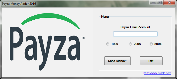 Payza Money Adder