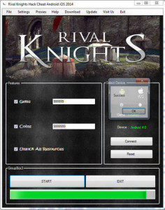 Rival Knights hack free gems