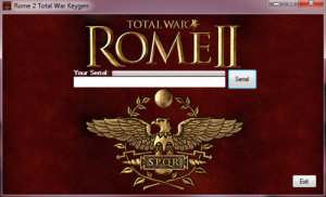 Total War: Rome 2 keygen v1.6