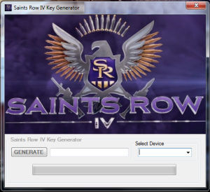 Saints Row 4 CD key generator