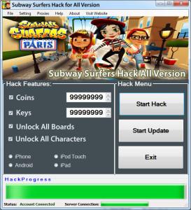Subway Surfer Hack