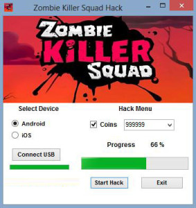Zombie Killer Squad cheat