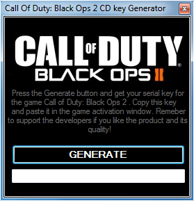 Call of Duty Black Ops 2 Key
