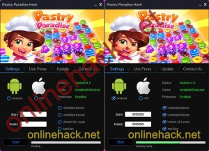 Pastry Paradise Hack Tool