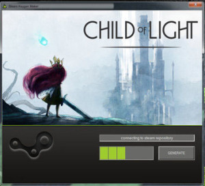 Child of Light CD key generator