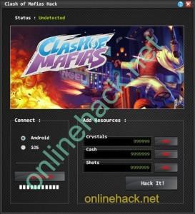 Clash of Mafias Hack Tool v1.2