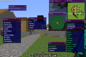 Minecraft Hacked Clients
