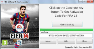 FIFA 14 key generator v2.1