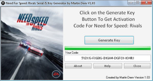 Need For Speed ​​Rivals CD key
