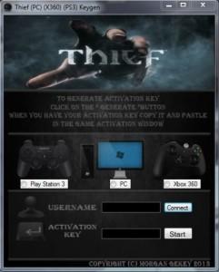Thief CD Key Generator