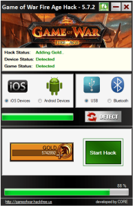 Hack Game of War: Fire Age