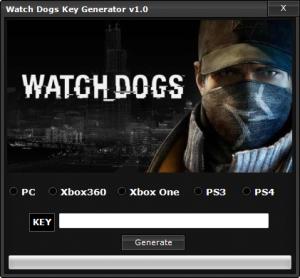 Watch Dogs CD key generator