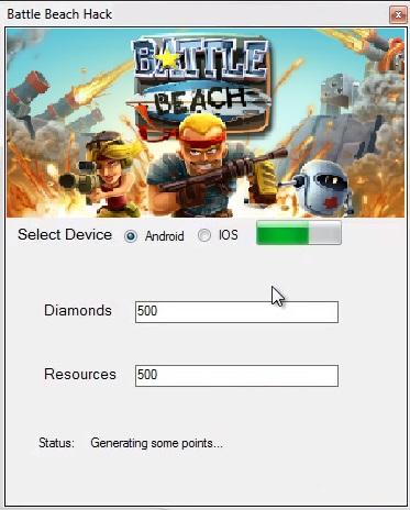 Battle Beach Hack