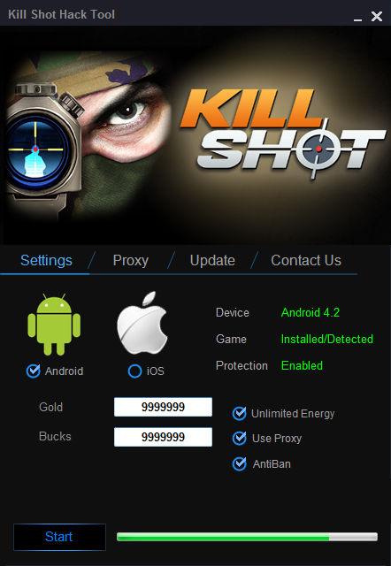 Kill Shot Hack Unlimited Gold and Add Unlimited Bucks, Unlimited Energy 2
