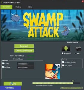 Swamp Attack Hack