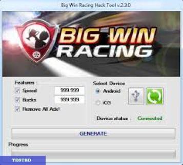 Big Win Racing Hack